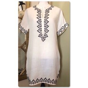 THML Embroidered Tunic Top
